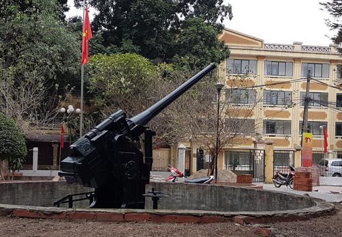 Trận địa Pháo Đài Láng, nơi nổ phát súng đầu tiên mở màn cho 60 ngày đêm giam chân địch trong lòng Hà Nội. Ảnh:Võ Hải.