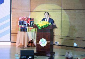PGS TS Tăng Chí Thượng phát biểu khai mạc Hội nghị khoa học Điều dưỡng Việt – Úc